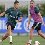 Ronaldo đến trước giờ tập 4 tiếng