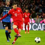 Bayern thắng nhọc đội cuối bảng