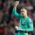 Thủ môn Barca: 'Hòa Sevilla là hợp lý'