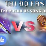 Hết bầu chọn vũ khí cấp 2 yêu thích, cộng đồng SH tiếp tục đọ fan Phong Thần Kiếm và Súng Rồng