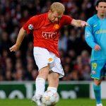 Scholes khó chịu vì trận Man Utd - Barca năm 2008