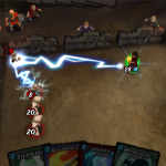 tựa game kết hợp cả hai yếu tố nhập vai và thẻ bài