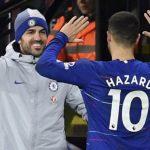 Fabregas ngạc nhiên khi cân nặng của Hazard bị soi mói