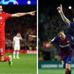 Messi kém Lewandowski về thành tích ghi bàn năm 2019
