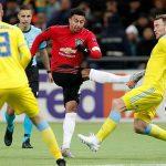 Man Utd thua ngược tại Europa League