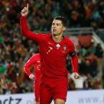 Ronaldo lập hattrick ở vòng loại Euro 2020