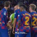 Valverde nghi trọng tài hiểu nhầm khi phạt Dembele thẻ đỏ