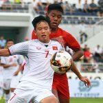 Việt Nam thắng Myanmar tại giải U15 quốc tế