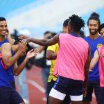 Malaysia cười đùa vui vẻ trước trận đấu Việt Nam