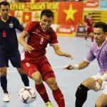 Việt Nam thua Thái Lan tại bán kết futsal Đông Nam Á