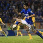 Cầu thủ Quảng Ninh bị treo giò