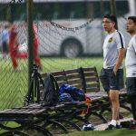HLV Malaysia đứng xem Việt Nam tập sút