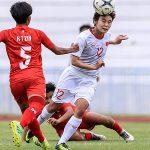 Myanmar nắn gân Việt Nam ở vòng loại Olympic