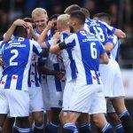 Đoàn Văn Hậu dự bị trong trận thắng của Heerenveen