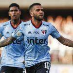 Dani Alves ghi bàn quyết định trong trận ra mắt Sao Paulo
