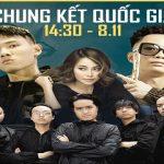 Rhymastic, Tage, Giang Phạm, KLAF biểu diễn trực tiếp tại Chung kết Đấu Trường Danh Vọng 8/11