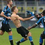 Inter lên đỉnh bảng Serie A