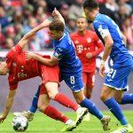 Bayern thua trận đầu tiên ở Bundesliga mùa này