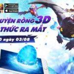 Bí Kíp Luyện Rồng 3D tặng 300 giftcode Đùi Gà mừng ngày ra mắt