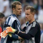 Neuer và Ter Stegen bắt luân phiên ở tuyển Đức
