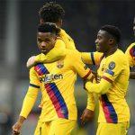 Fati trở thành cầu thủ ghi bàn trẻ nhất Champions League