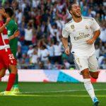 Real thắng trong ngày Hazard ghi bàn đầu tiên