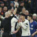 Tottenham kháng cáo bất thành thẻ đỏ của Son