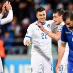 Italy thắng trận thứ chín liên tiếp dưới thời Mancini