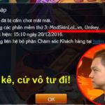 Đại diện của Riot tại Việt Nam khẳng định mod skin và unikey không bị khóa acc