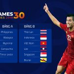 Lịch thi đấu SEA Games 30Lịch thi đấu SEA Games 30