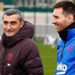 Messi tri ân cựu HLV Valverde