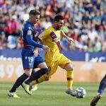 Barca đại bại trước Levante