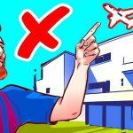 Lý do các máy bay không được bay qua nhà Messi