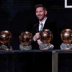Messi chỉ hơn Van Dijk bảy điểm khi đoạt Quả Bóng Vàng