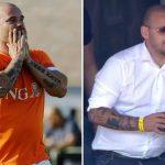 Sneijder phát phì hai tuần sau khi giải nghệ