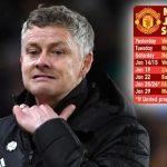 Man Utd đối mặt lịch đấu khốc liệt trong tháng 1