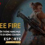 """Free Fire vượt mặt hàng loạt đối thủ để giành giải thưởng """"Game Esports di động của năm"""" tại Esports Awards 2020"""