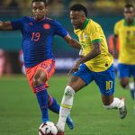 Neymar giúp Brazil hòa Colombia