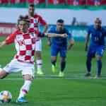 Croatia chia điểm trước Azerbaijan
