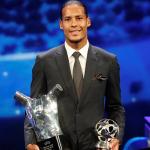 Van Dijk giành giải cầu thủ hay nhất châu Âu