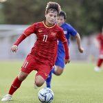 Nữ Việt Nam tuột chiến thắng trước Thái Lan