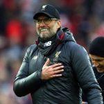 Jurgen Klopp: 'Liverpool không thể ở đỉnh bảng nếu thiếu may'