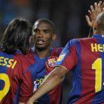 Eto'o: 'Tôi mở ra kỷ nguyên chiến thắng cho Barca chứ không phải Messi'