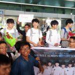 CJ Entus đã đặt chân an toàn đến TPHCM, chuẩn bị giao lưu cùng người hâm mộ