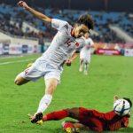 Việt Nam đứng áp chót nhóm nhì bảng ở vòng loại U23 châu Á