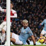 Aguero thừa nhận bóng chạm tay trước khi xé lưới Arsenal