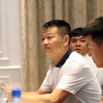 Văn Quyến dẫn quân thi đấu ở giải U15 quốc gia
