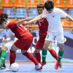Việt Nam thua Indonesia ở tứ kết U20 futsal châu Á