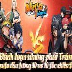 Nhân dịp Big Update Ninja Làng Lá Mobile tặng 1000 giftcode giá trị