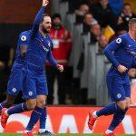Higuain ghi bàn trong chiến thắng nhọc nhằn của Chelsea